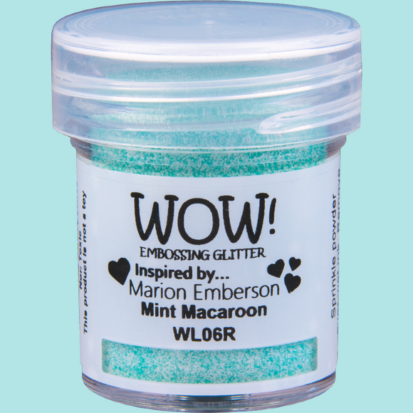 WOW! Embossing Powder - WL06 Colour Blend Mint Macaroon Regular