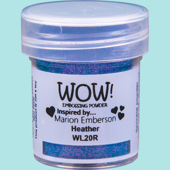 WOW! Embossing Powder - WL20 Colour Blend Heather Regular