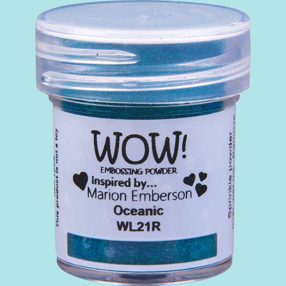 WOW! Embossing Powder - WL21 Colour Blend Oceanic Regular