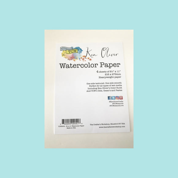 Catherine Pooler - Watercolor Paper 4pk by Ken Oliver