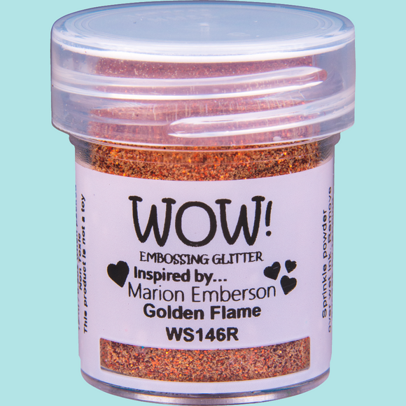 WOW! Embossing Glitter - WS146 Golden Flame