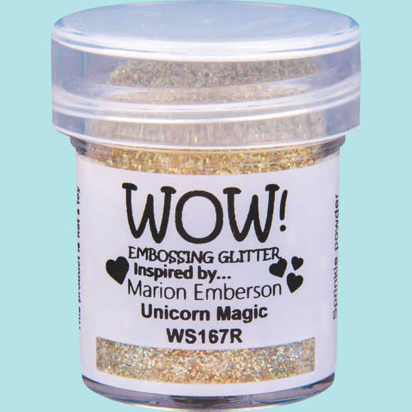 WOW! Embossing Glitter - WS167 Unicorn Magic