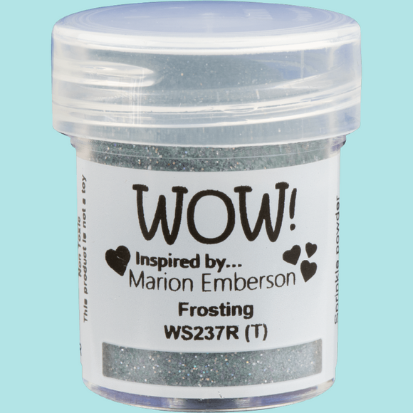 WOW! Embossing Glitter - WS237R Frosting