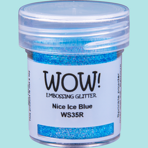 WOW! Embossing Glitter - WS35 Nice Ice Blue