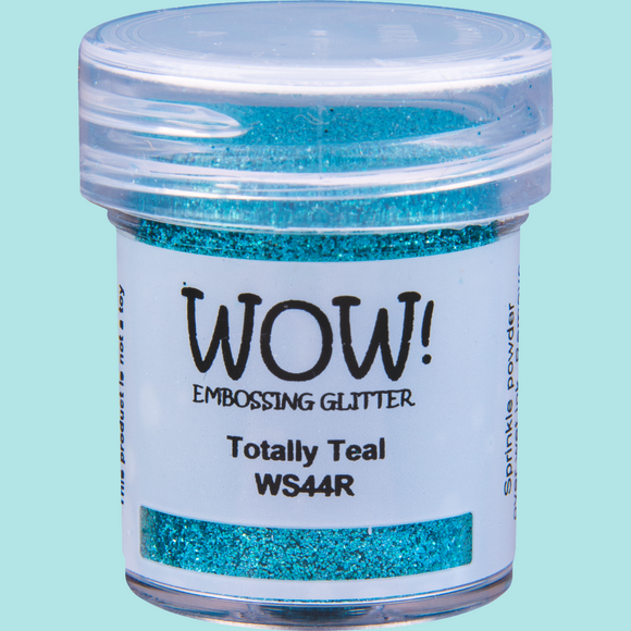 WOW! Embossing Glitter - WS44 Totally Teal