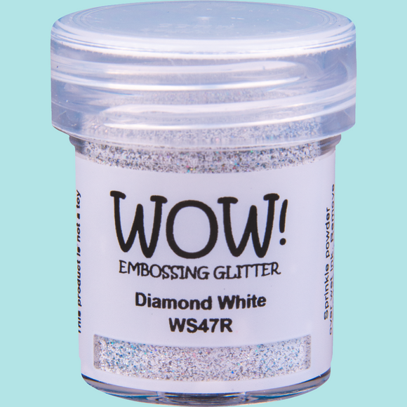 WOW! Embossing Glitter - WS47 Diamond White