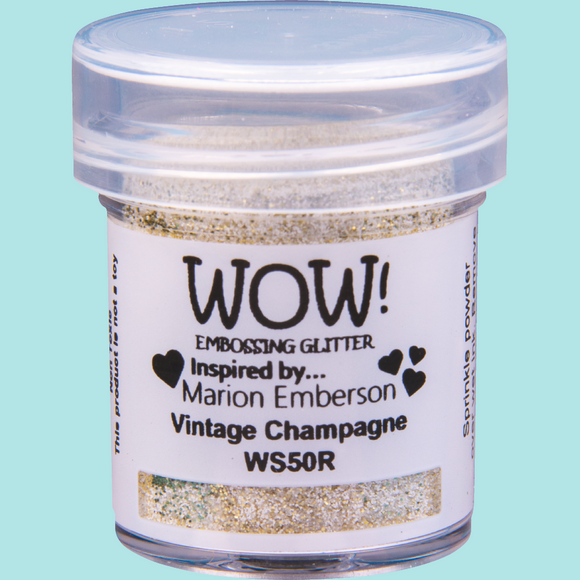 WOW! Embossing Glitter - WS50 Vintage Champagne