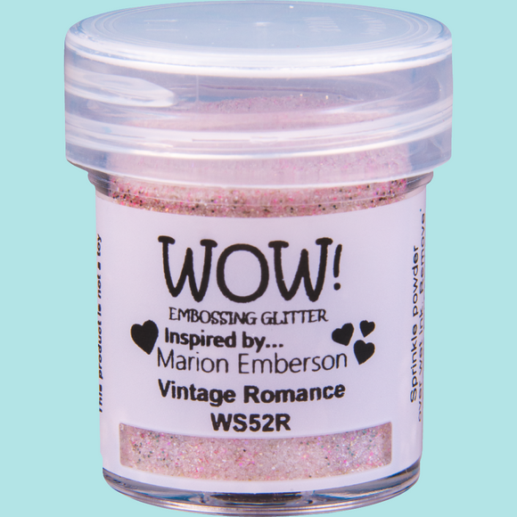 WOW! Embossing Glitter - WS52 Vintage Romance