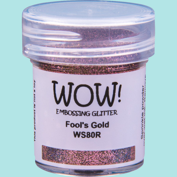 WOW! Embossing Glitter - WS80 Fool's Gold