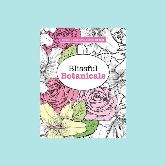 Blissful Botanicals Colouring Book 2 - Harlequin Books