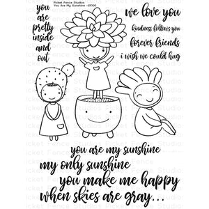 Picket Fence Studios - You Are My Sunshine Stamp Set