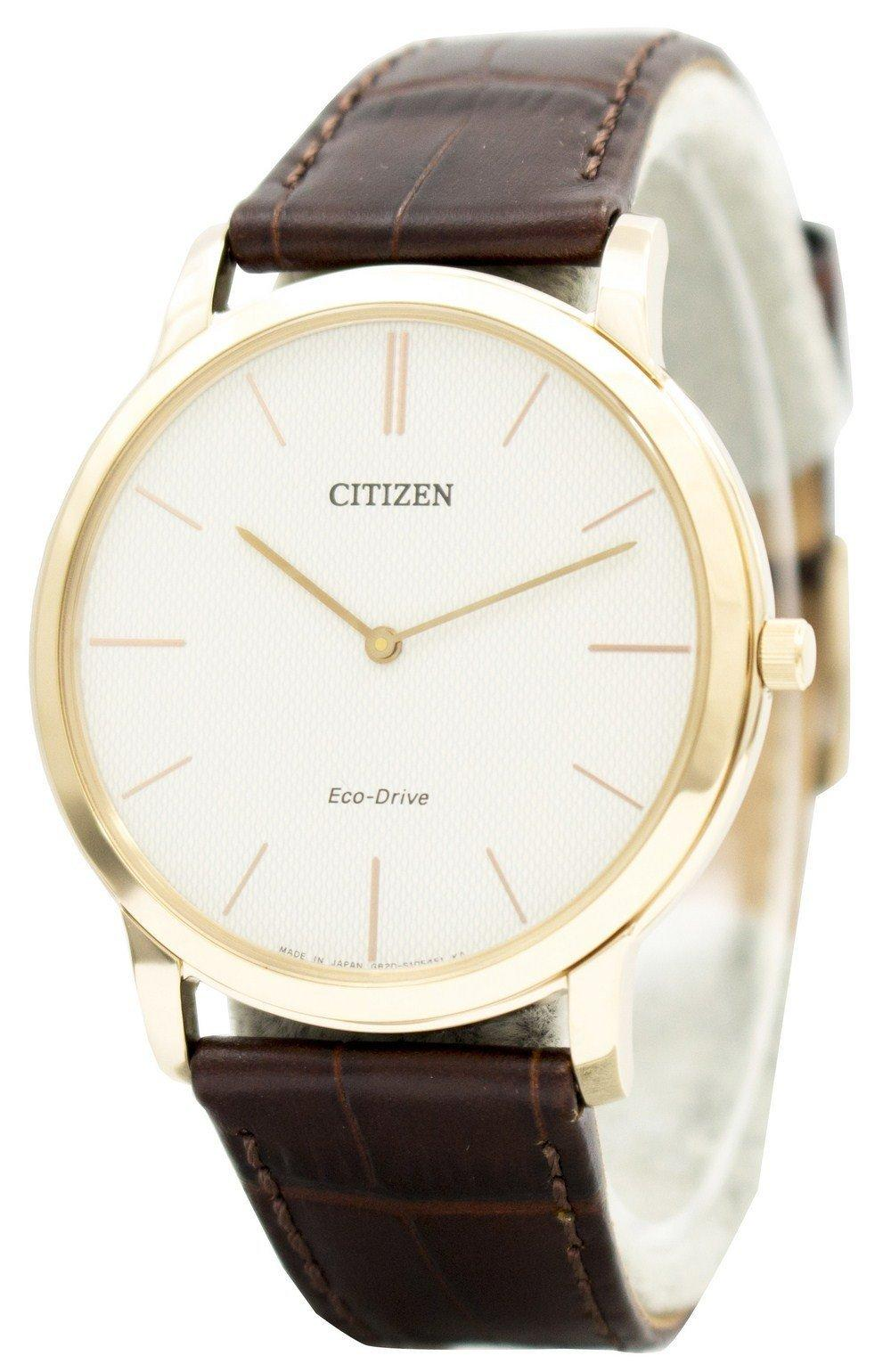 Citizen Eco-drive Stilleto Super Thin Ar1113-12a Men's Watch