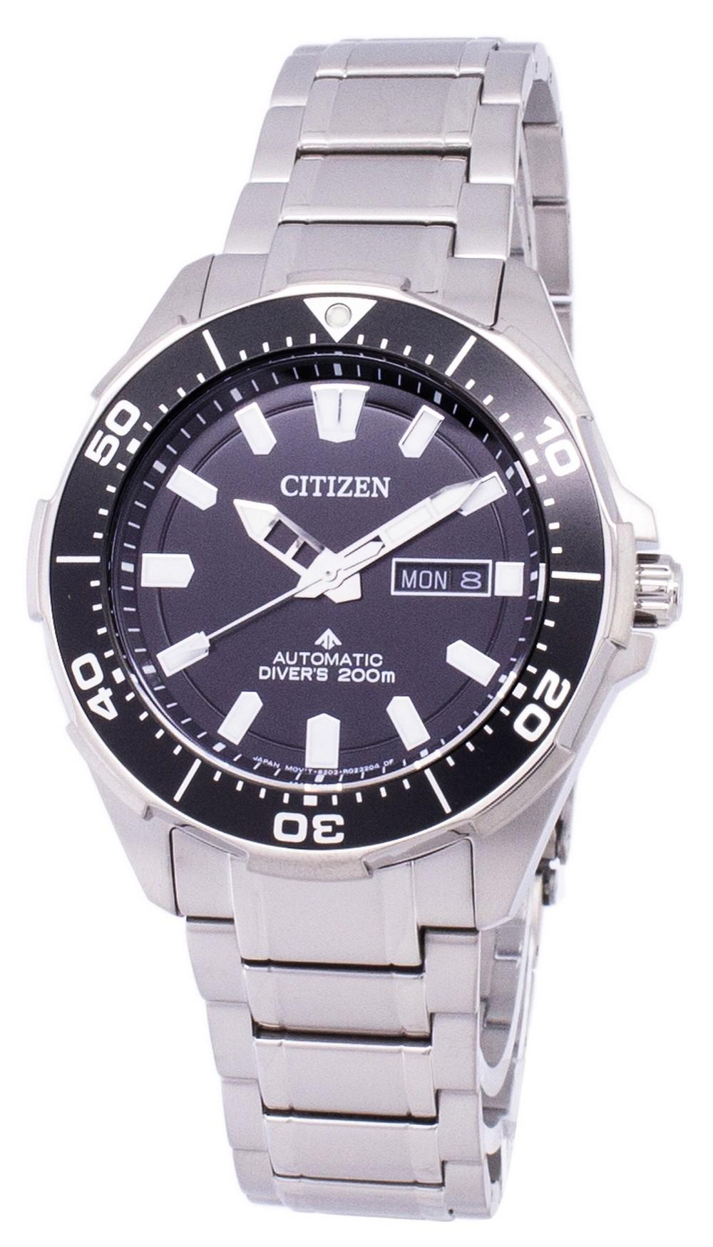 Citizen Promaster Marine Scuba Diver 200m Automatic Ny0070-83e Men's Watch