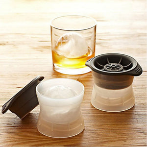 Cool Cocktails - 2 Sphere Ice Cube Makers