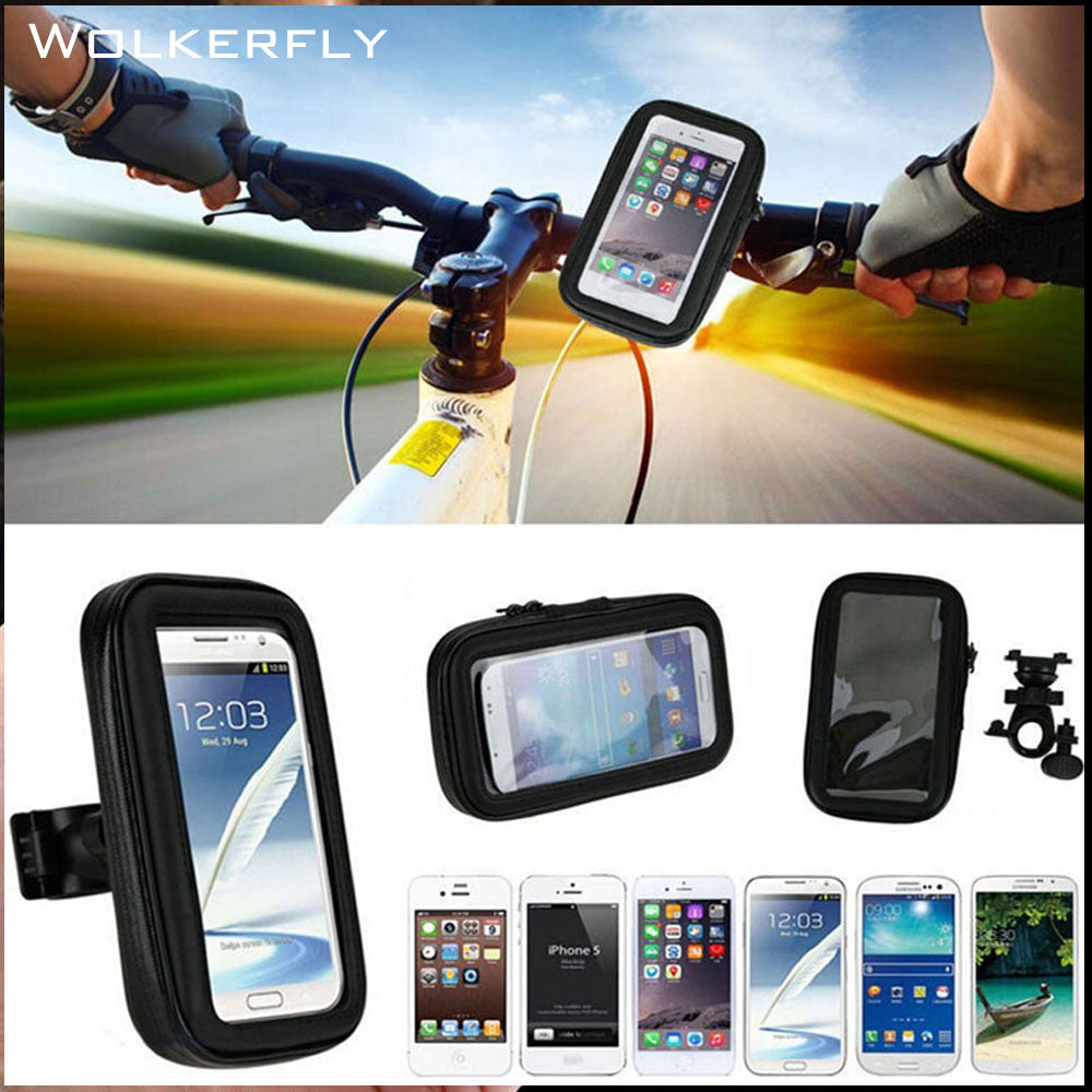 Universal Bike Bicycle Handle Phone Mount Cradle