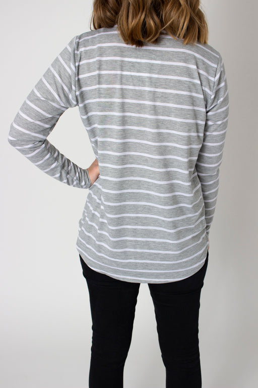 Greyhound Long Sleeve V-Neck