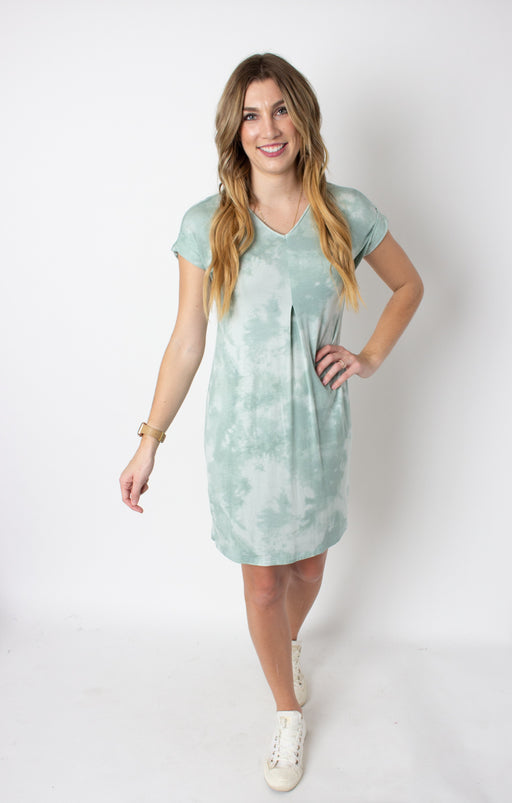 Tie Dye Slub Dress