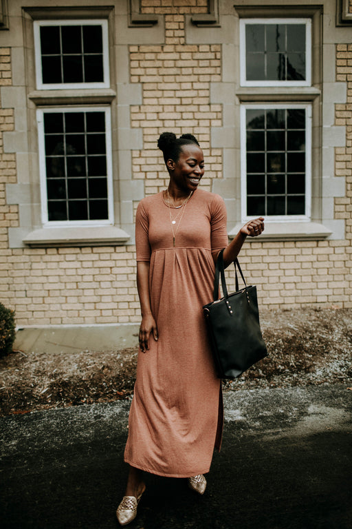 Cinnamon Empire Maxi Dress