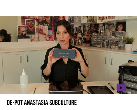 How to de-pot Anastasia