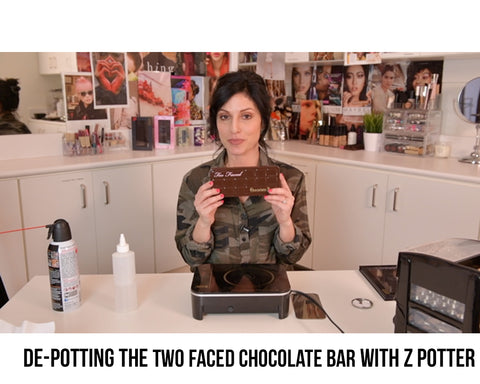 De-Potting The Two Faced Chocolate Bar with Z Potter