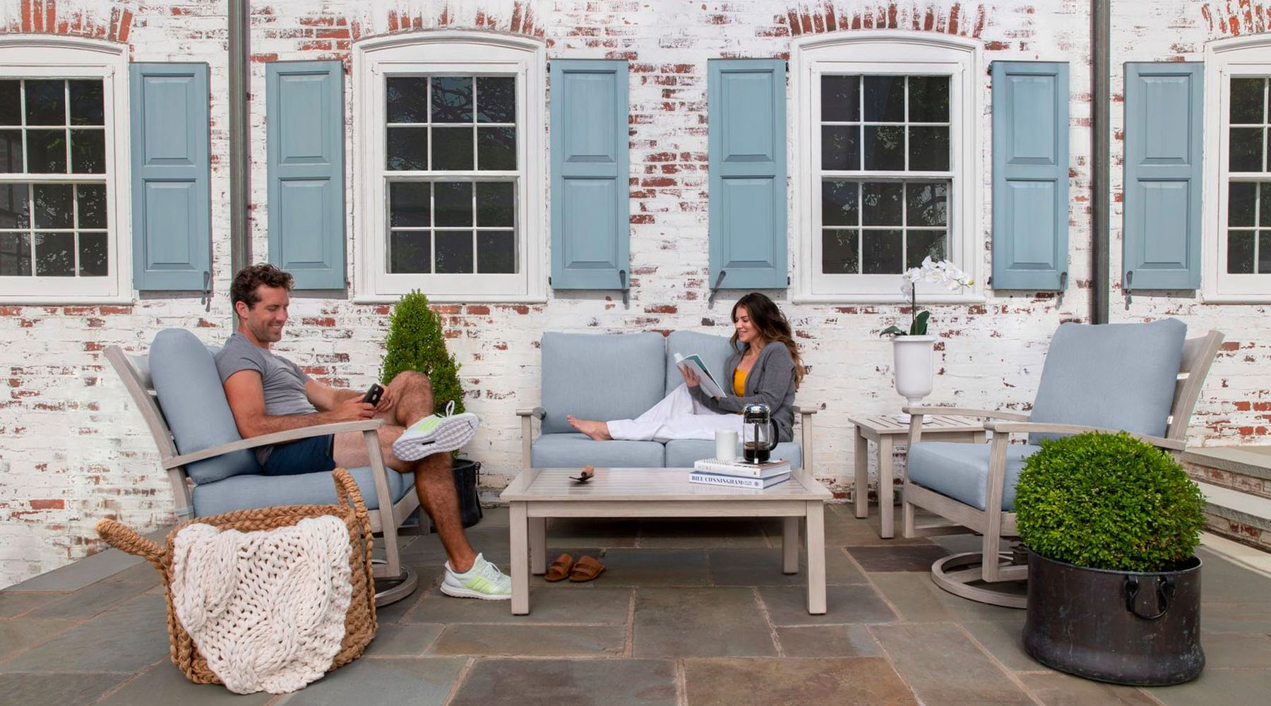 Eden outdoor furniture collection