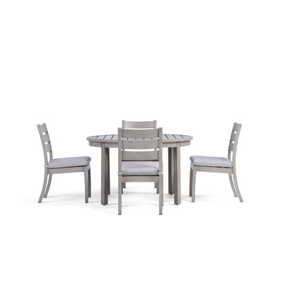 Yardbird Eden 5 Piece Circular Outdoor Dining Set Outdoor Furniture