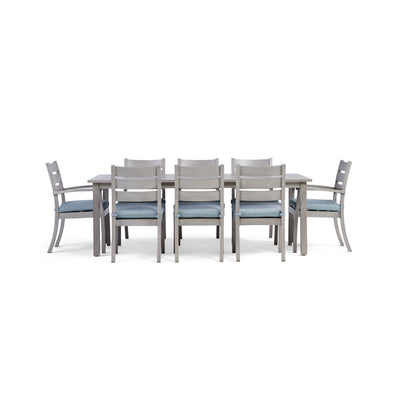 Yardbird Eden 9 Piece Rectangular Outdoor Dining Set Outdoor Furniture