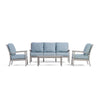 Yardbird Eden Outdoor Sofa Set with Fixed Chairs Outdoor Furniture