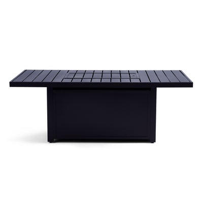 Yardbird Rectangle Fire Pit Table Outdoor Furniture