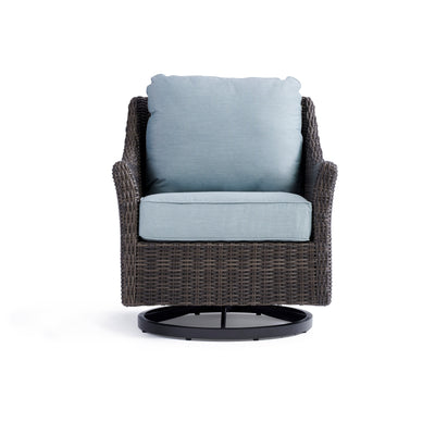 Yardbird Harriet Outdoor Swivel Glider Chair Outdoor Furniture