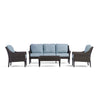 Yardbird Harriet Outdoor Sofa Set with Fixed Chairs Outdoor Furniture