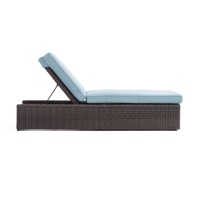 Yardbird Harriet Outdoor Chaise Lounge Outdoor Furniture