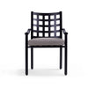 Yardbird Lily Outdoor Dining Arm Chair Outdoor Furniture