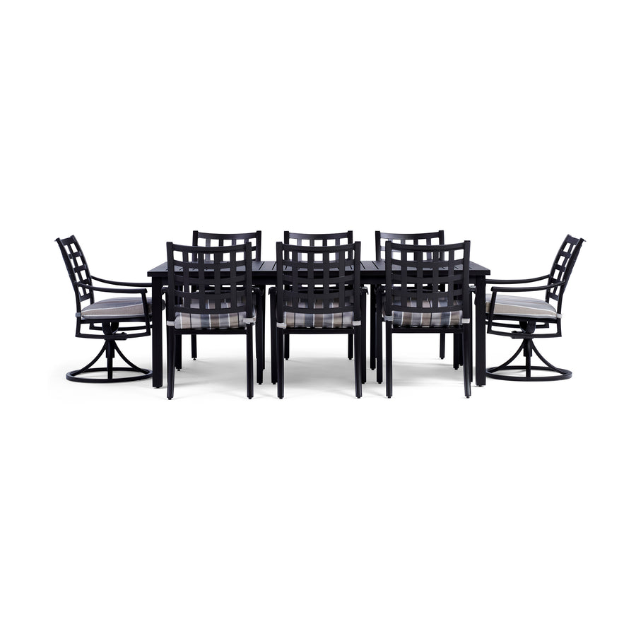 Yardbird Lily 9 Piece Rectangular Outdoor Dining Set Outdoor Furniture