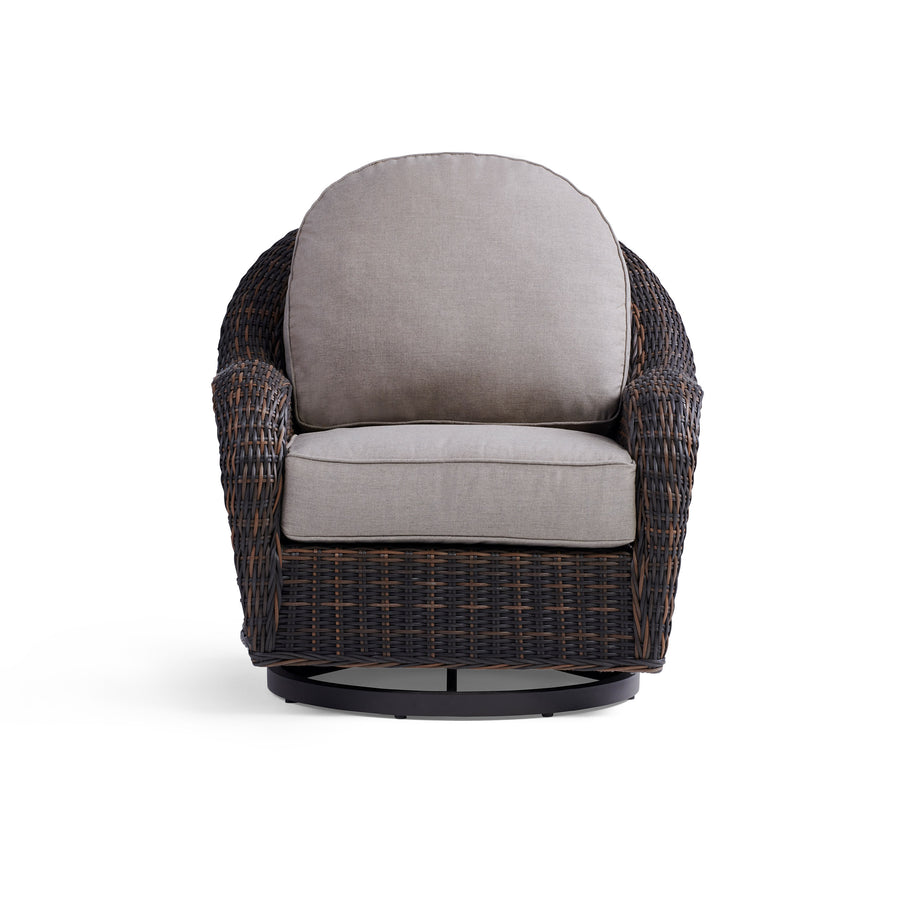 Yardbird Waverly Swivel Chair Outdoor Furniture