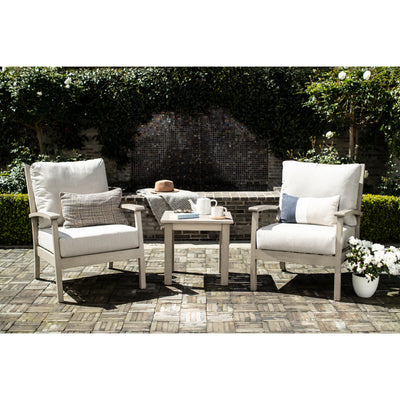 Yardbird Eden Outdoor Bistro Set with Fixed Chairs Outdoor Furniture