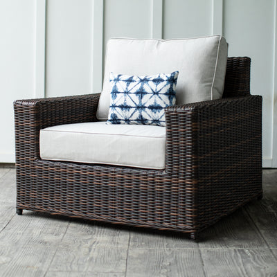 Yardbird Langdon Outdoor Fixed Chair Outdoor Furniture