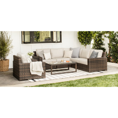 Yardbird Langdon Outdoor Armless Insert Outdoor Furniture