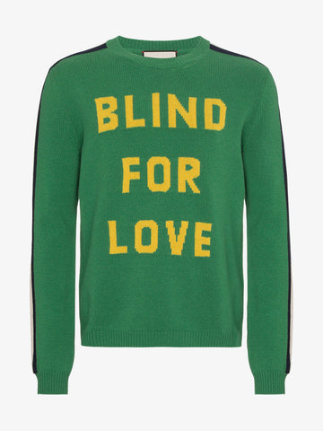 Blind For Love Knitted Jumper
