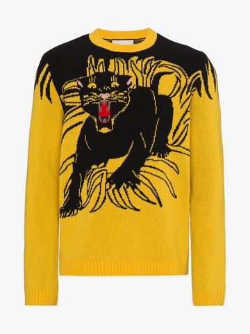 GG Panther Sweater