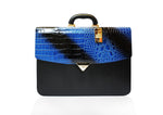 Classic Briefcase Royal Blue - Large