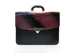 Classic Briefcase Dark Purple - Large
