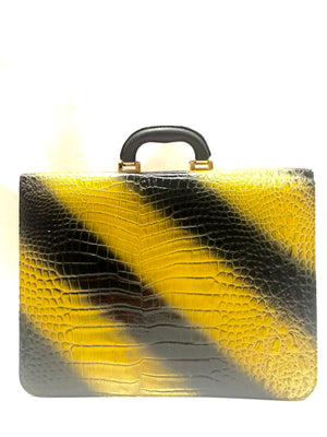 Classic Briefcase Yellow - Large