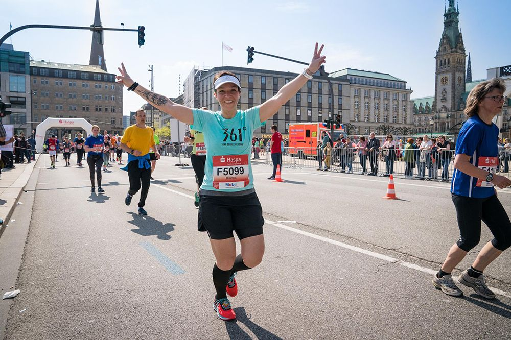 Haspa Marathon Hamburg runs together with 361 Degrees in 2019