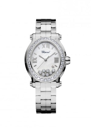 Chopard Happy Sport Oval Pavee Watch