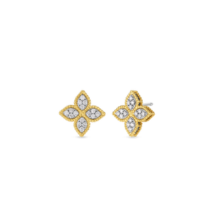 Medium Stud Earring Diamonds