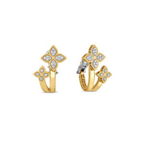Huggy Earrings Diamonds 2