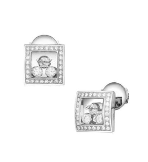 Happy Diamonds Square Earrings