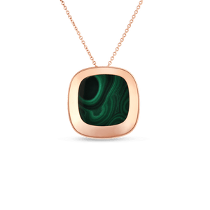 Large Pendant Malachite