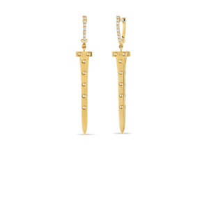 Chiodo Drop Earrings Diamonds
